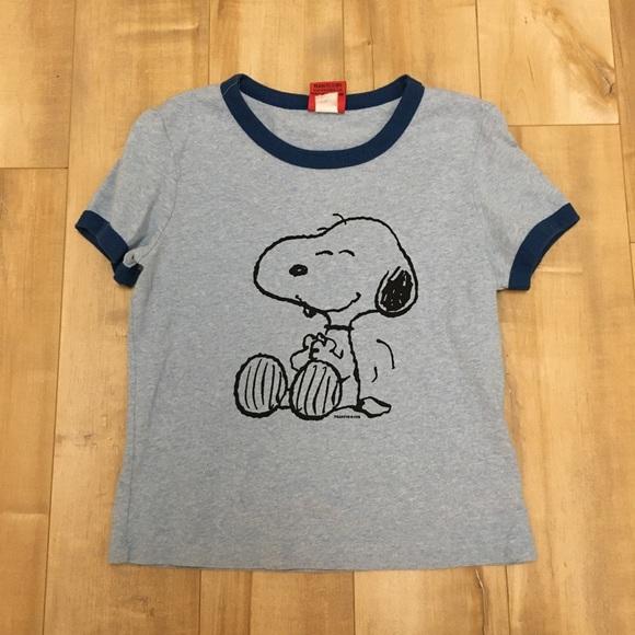 👕5/$20👕 EUC 90s Peanuts Schulz by Doe Snoopy Top